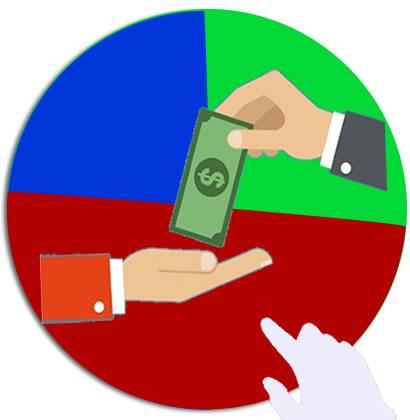 Icona del modulo controllo operazioni di cassa per i versamenti e prelievi